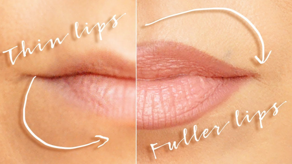 enhance thin lips